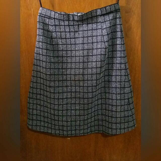 A-Line Office Skirt