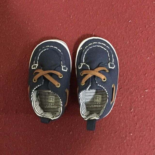 As New Carter Baby Shoes size 3 - 6 months
