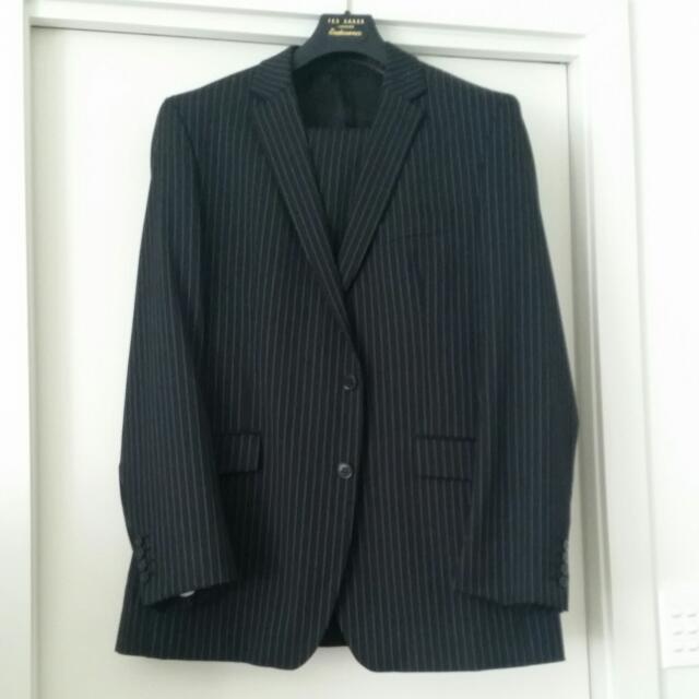 Ben SHERMAN pin Stripe Suit