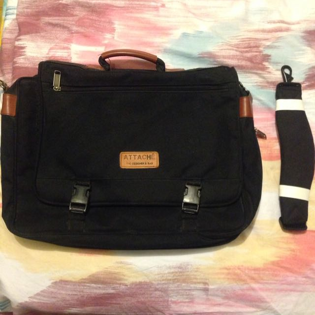 💥Drop Price- Black Laptop Bag With Strap