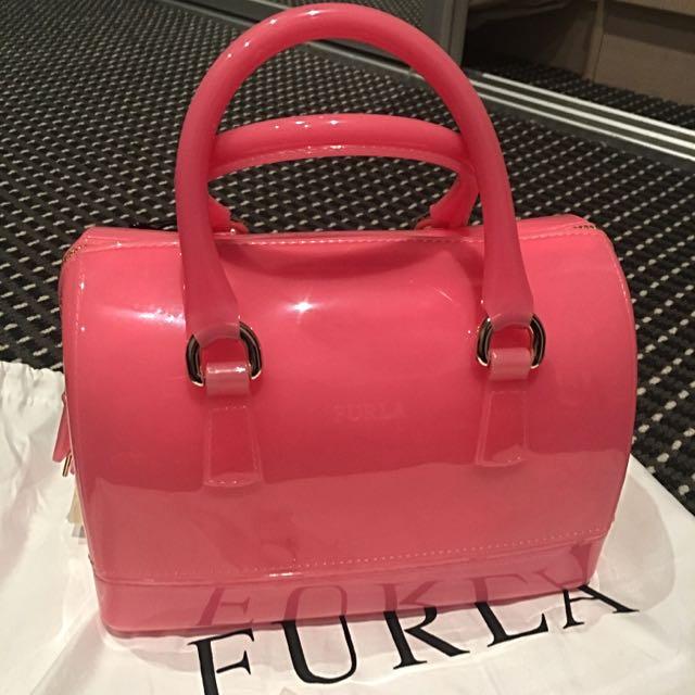 Brand new Furla Candy Satchel