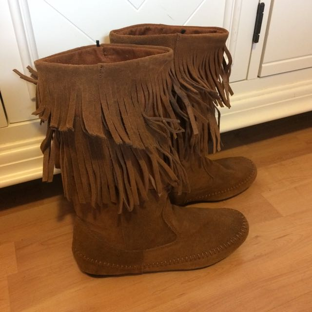 Brown Indian Style Boot