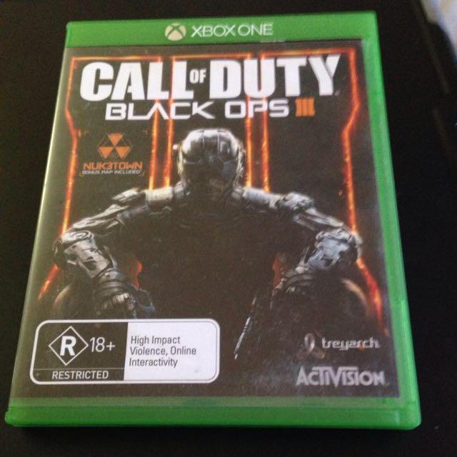 Call Of Duty Black Ops III (Xbox One)