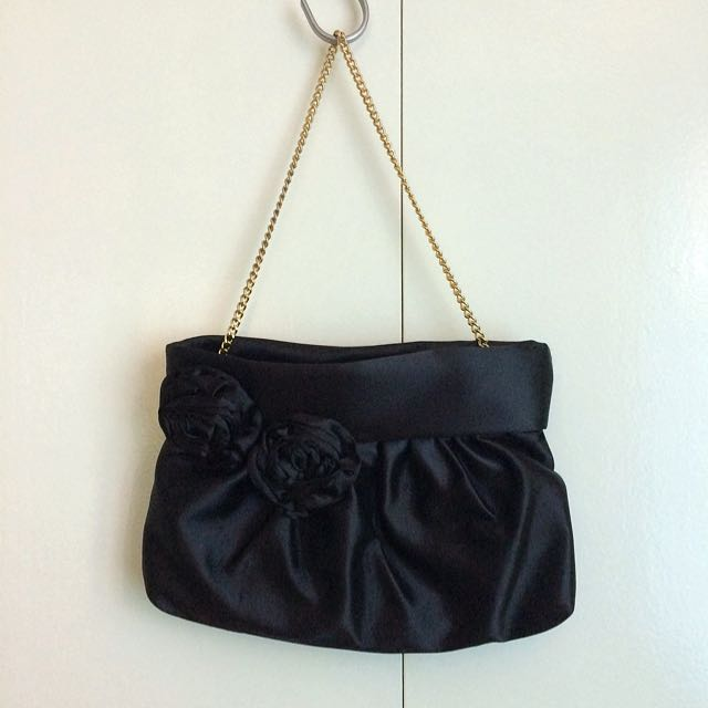 Charles And Keith Black Evening Clutch