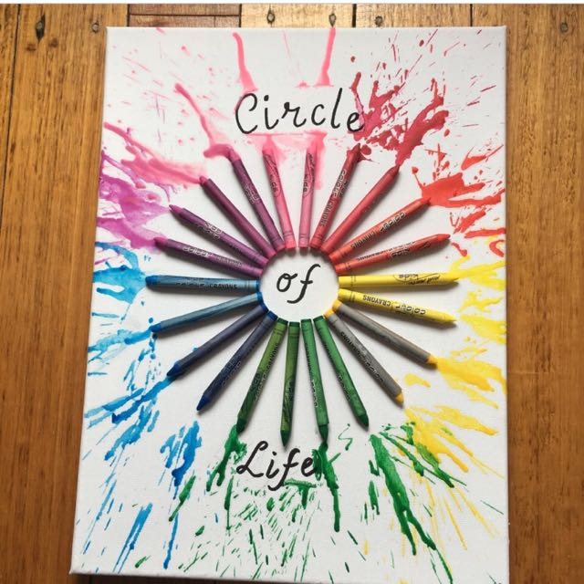 Circle of life Canvas