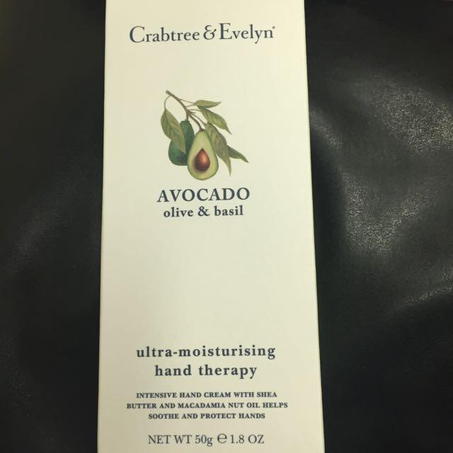 Crabtree & Evelyn 酪梨 瑰珀翠 高效保濕護手霜