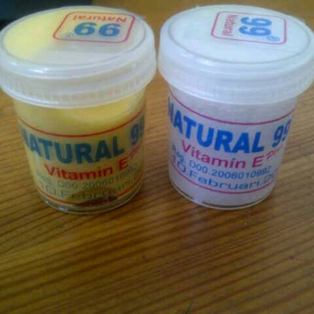 Cream Natural 99, Kualitas No.1 (bukan KW) : Cream Only