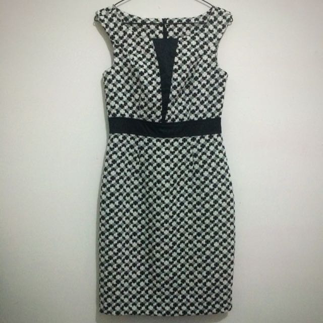 Dress blackXwhite