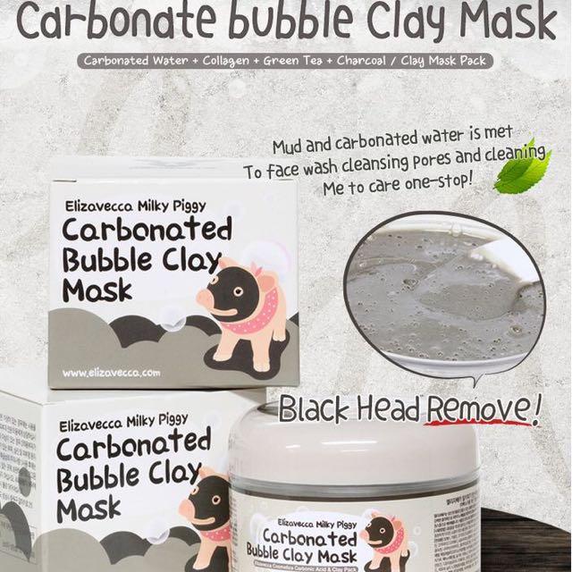 Elizavecca Piggy Bubble Clay Mask