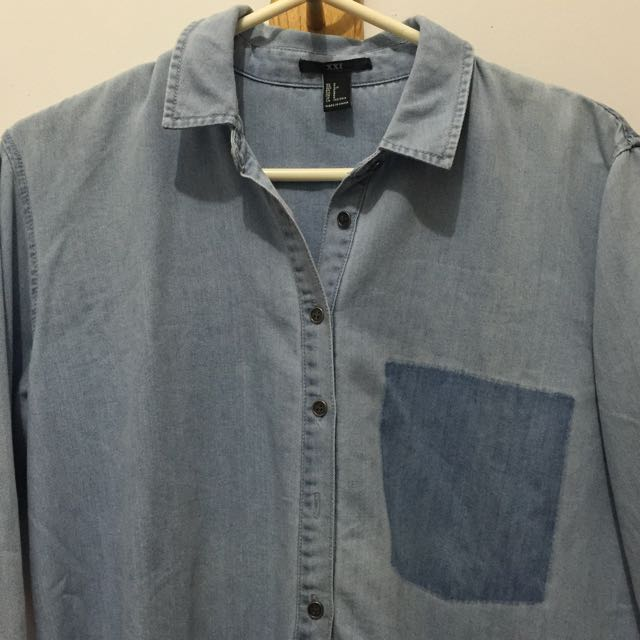 FOREVER 21 Jeans Shirt