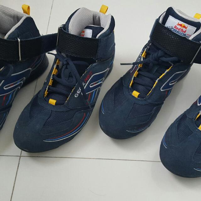 hot sale online e688c 73be2 Geox Net Boys Ankle Boots(net Breathing System), Babies   Kids, Boys   Apparel on Carousell
