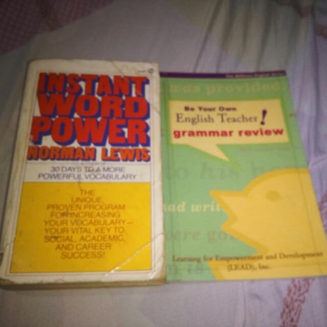 grammar and vocabulary books