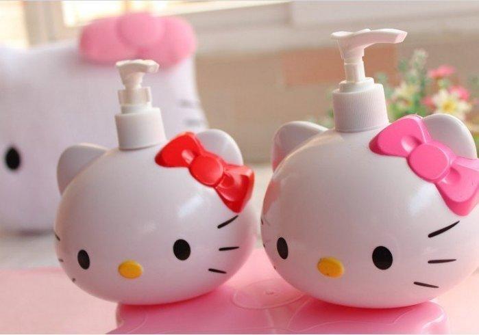 Hello kitty  立體 蝴蝶結 乳液瓶 壓瓶 洗手乳 沐浴乳 洗髮乳 特價$90
