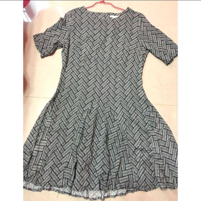 H&M 短袖洋裝