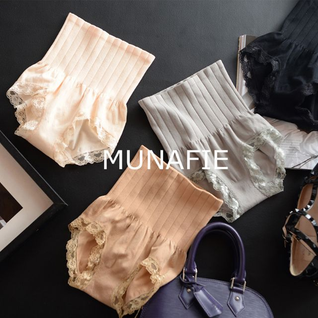 Japan Munafie Slim Panty / Slim Face Pants / Celana Korset Renda