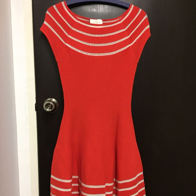 12a371d668e9 Kate Spade Knit Dress, Luxury, Apparel on Carousell