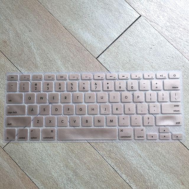 Keyboard cover gel for Macbook Pro