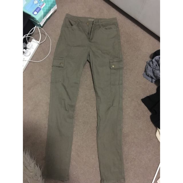 Khaki Green Pants/jeans