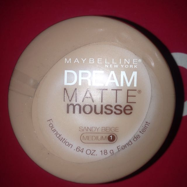 Maybelline Matte Mouse Foundation