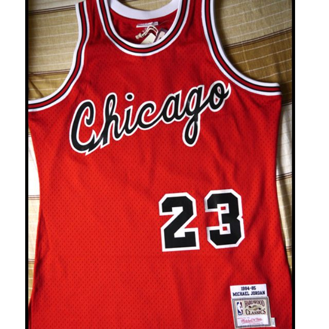 4741b3c37e2d Mitchell   Ness Chicago Bulls Michael Jordan 1984-1985 Hardwood ...