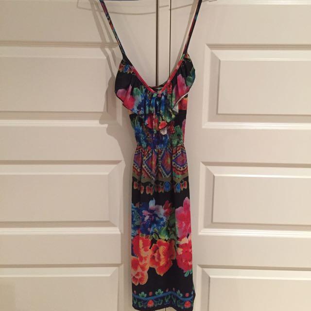 Multi Coloured Dress Size S