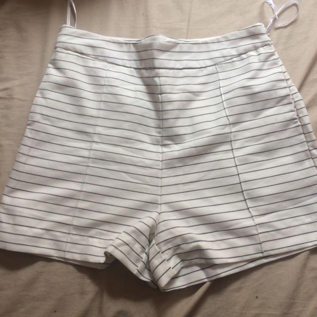 White Closet Shorts