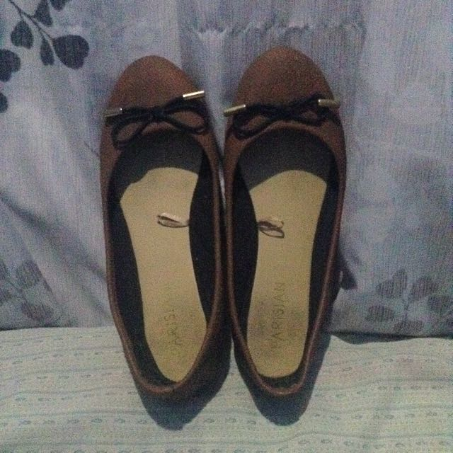 Parisian Brown Doll Shoes