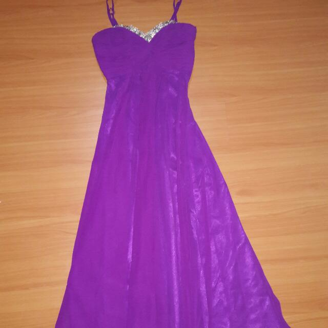 Purple Long dress