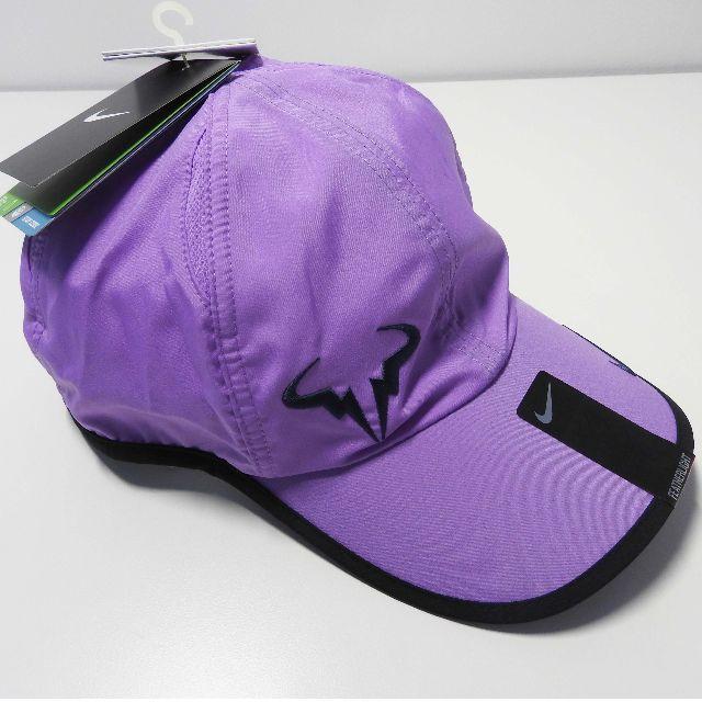 ee221df829dfe Rafael Nadal Nike Bull Logo Purple Cap