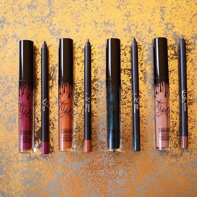 Restocked Kylie Cosmetics Pumpkin Lip Kit