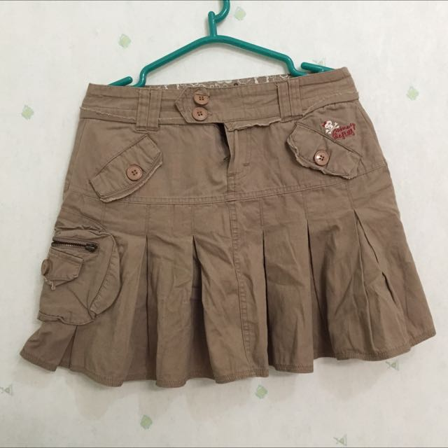 ROK JEANS COKLAT NINETY DEGRESS