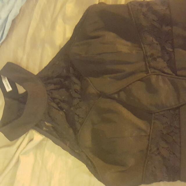 Size 6-8 Black Dress