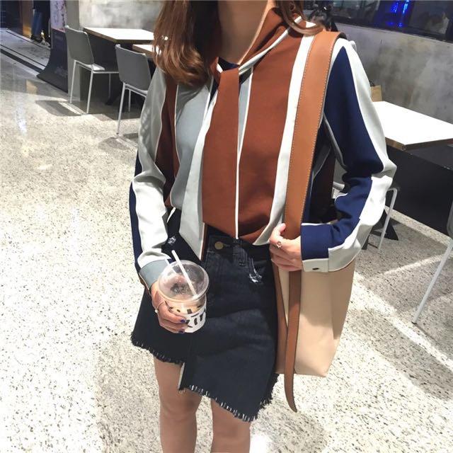 S.jia新品雪紡襯衫