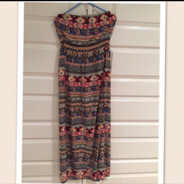 Strapless Dress Size 12