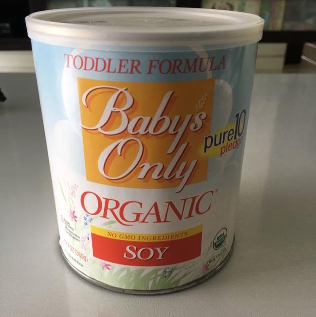 Toddler Formula organic Soy Milk Powder
