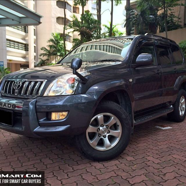 Toyota Prado For Rent 7 Seats Cars Vehicle Rentals On Carousell