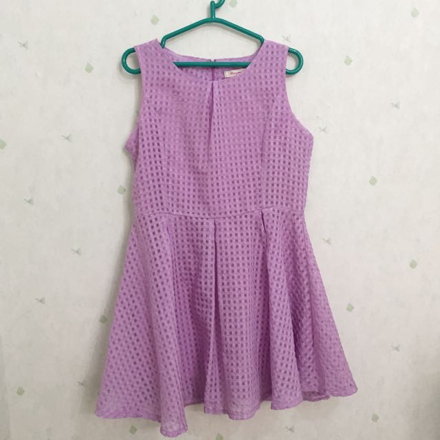 VIOLET DRESS REALY SWEET