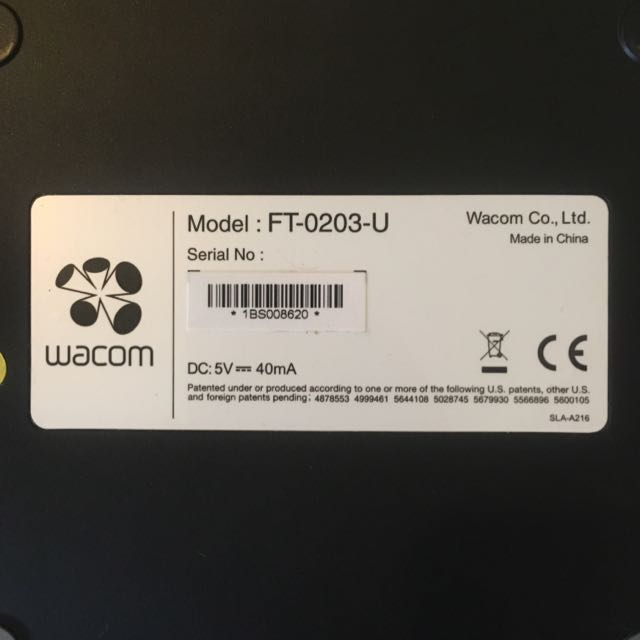 WACOM FT-0203-U DRIVER DOWNLOAD