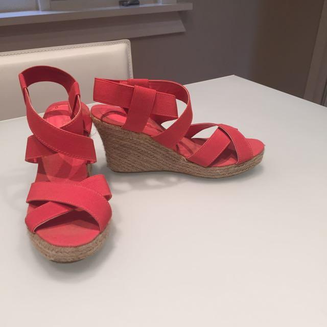 Watermelon Sandals Size 7
