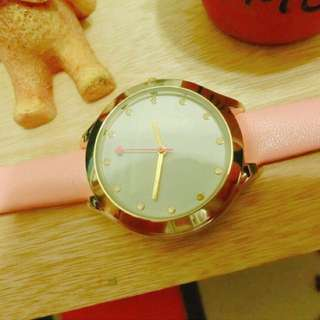 🍭現貨實拍🍭甜美心型秒針女錶