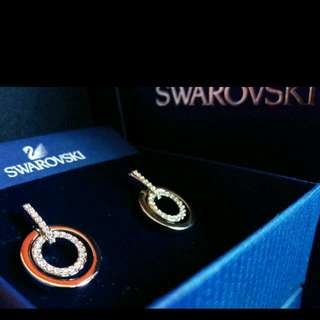 Swarovski Circle Earings