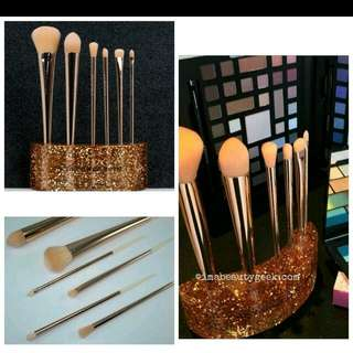 Sephora Gold Glitter Brush Set
