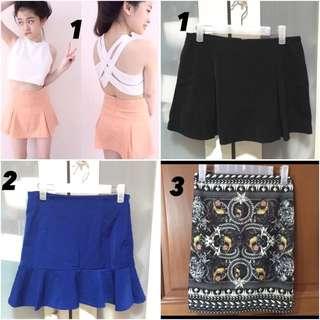 Skirt & Short