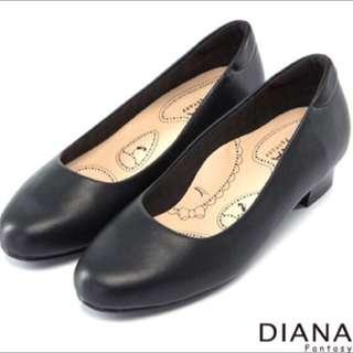 DIANA 超厚切布朗尼美人D款 上班族 包鞋 小資女孩