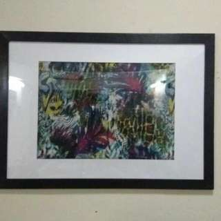 Reduced! Huge Artwork With Frame