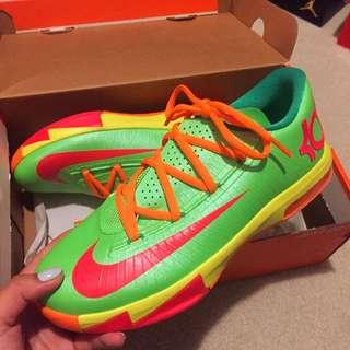 Nike Basketball KD6 Candy Edition - Sz 6Y