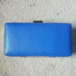 Blue Colette clutch