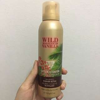 Bath & Body Works Whipped Shimmer Butter Wild Madagascar Vanilla