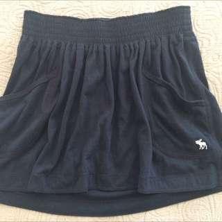 Abercrombie Navy Skirt