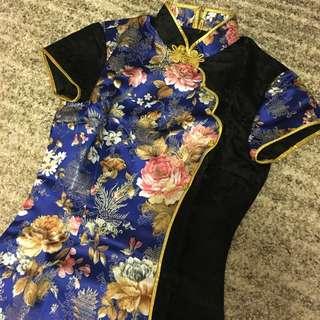 Brand NEW Chinese Qipao Hand Made Silk!